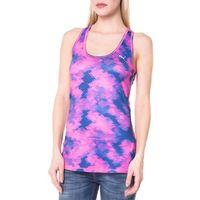 essential layer top różowy fioletowy xs, Puma