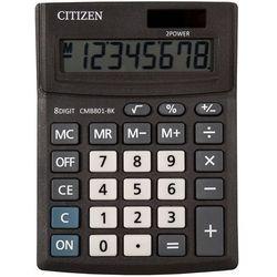 Kalkulator biurowy CITIZEN CMB801-BK Business Line, 8-cyfrowy, 137x102mm, czarny, CI-CMB801BK