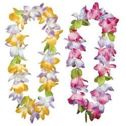Kwiaty hawajskie super - 2 kolory - produkt z kategorii- Dekoracje i ozdoby dla dzieci