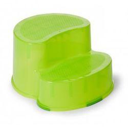 Childhome Podest dwustopniowy i krzesełko ergonomiczne 2w1 limonka