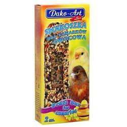 Dako-art  smakoszka - kolby owocowe dla kanarków 2szt.