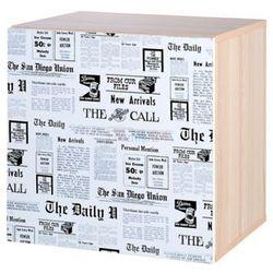 szafka z nadrukiem top news marki Klupś