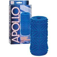 masturbator max blue   100% dyskrecji   bezpieczne zakupy marki Apollo
