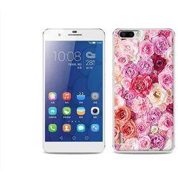 Foto Case - Huawei Honor 6 Plus - etui na telefon Foto Case - jasne róże (Futerał telefoniczny)