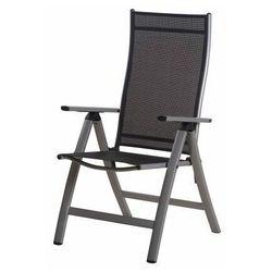 Rojaplast krzesło LONDON silver-black (4047952064717)