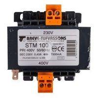 Transformator 1-fazowy STM 100VA 400/230V 16252-9917 BREVE