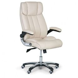 Fotel biurowy combi xl, kremowy marki B2b partner