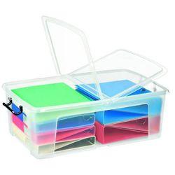 Cep Pojemnik biurowy 50 l smartbox transparentny - x07473