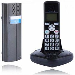 Comwei Domofon bezprzewodowy d102b, teledomofon, czarny