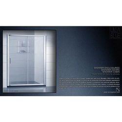 DRZWI PRYSZNICOWE AXISS GLASS AN6121D 1600mm - produkt z kategorii- Drzwi prysznicowe