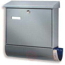 Popularna skrzynka na listy SET VARIO srebrna (4003482314401)
