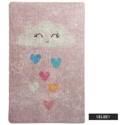 Selsey dywan do pokoju dziecięcego dinkley chmurka różowa 100x160 cm (5903025554563)
