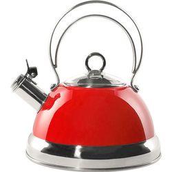 Wesco Czajnik klasyczny, czerwony z gwizdkiem 2 litry (340520-02)