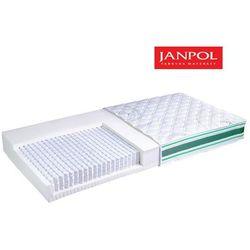 Janpol odys - materac multipocket, sprężynowy, rozmiar - 120x200, pokrowiec - jersey standard wyprzedaż, wy