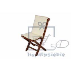 Poduszka Garth na krzesło składane kremowa (4025327060106)