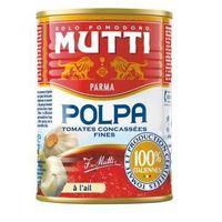 Develey Pomidory krojone z czosnkiem 400 g mutti (8005110170461)