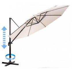 parasol ogrodowy roma, boczny 3,5 m, beżowy marki Makers