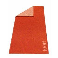 Ręcznik 50x30 cm Soft Flower Doubleface pomarańczowy