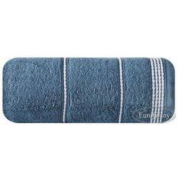 Ręcznik MIRA 70x140 Eurofirany ciemny niebieski