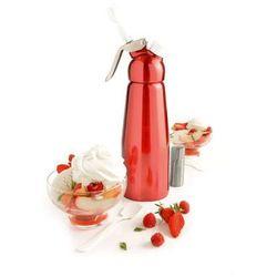Syfon do spieniania zimnych i gorących musów Mastrad czerwony MA-F49315, MA-F49315