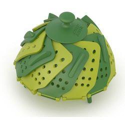 - naczynie do gotowania na parze lotus plus - zielone - zielone wyprodukowany przez Joseph joseph