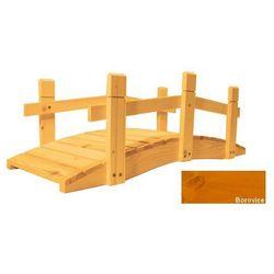 Mostek drewniany ogrodowy - 71 cm - Sosna