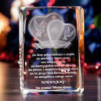 Podziękowania dla rodziców »Serca 3D« z Twoją dedykacją • GRAWER 3D