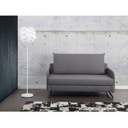 Sofa szara - kanapa - sofa do spania - rozkladana - BELFAST - sprawdź w wybranym sklepie