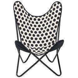 Krzesło bawełniane czarne