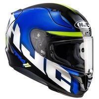 KASK HJC R-PHA-11 SPICHO BLACK/WHITE/BLUE