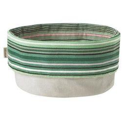 Pojemnik na pieczywo  w paski w odcieniach zieleni marki Stelton