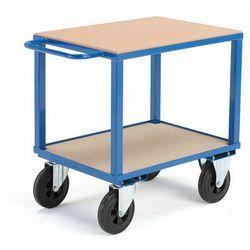 Aj produkty Wózek warsztatowy, bez hamulców, 2 koła skrętne, 600 kg, 800x600x830 mm