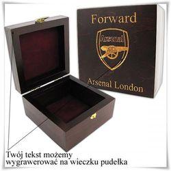Drewniana szkatułka prezentowa 11cm x 11 cm x 6cm z możliwością grawerowania