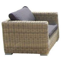 Fotel ogrodowy z podłokietnikami florence, marki Miloo