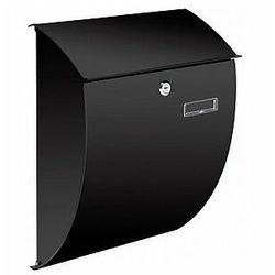 skrzynka pocztowa - nice - czarna marki Perel