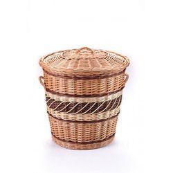 Wyroby z wikliny pph jan wnuk Beczka, kosz na pranie owalny