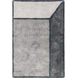 C&m Szary dywan 3d illusion grey