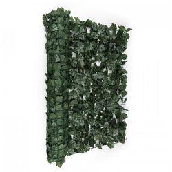 Blumfeldt Fency Dark Ivy osłona balkonowaosłona przed wiatrem 300x150cm bluszcz ciemnozielony