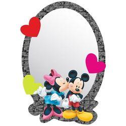 Lustro samoprzylepne dla dzieci Mickey i Minnie, 15 x 21,5 cm (8595577921084)
