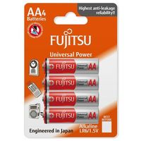 4 x bateria alkaliczna Fujitsu Universal Power LR6 AA blister - produkt z kategorii- Baterie