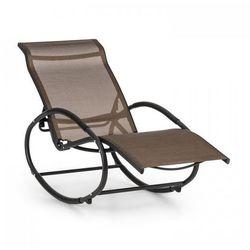 Blumfeldt Santorini fotel bujany leżak brązowo-czarny (4260509684170)