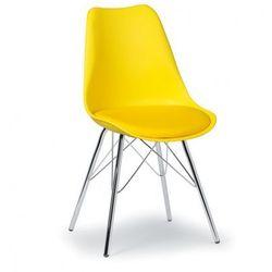Krzesło konferencyjne Christine, żółte
