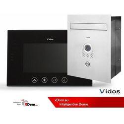 Zestaw skrzynka na listy z wideodomofonem. monitor 7'' s551-skp_m670b-s2 marki Vidos
