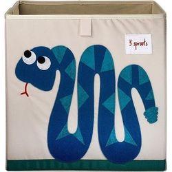 Pudełko do przechowywania wąż marki 3 sprouts