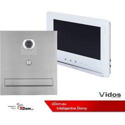 Zestaw s551-skm skrzynka na listy z wideodomofonem, monitor 7'' wideodomofonu m690ws2 marki Vidos