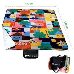 Spokey PICNIC TODDLER - Koc piknikowy; 130x170cm - produkt z kategorii- Pozostałe sport i hobby