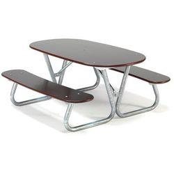 Aj Stół piknikowy blabar, 1400x1400x650 mm