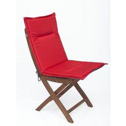 Hobbygarden Poduszka miami - dwustronna - czerwony + grafit - 98x46 cm