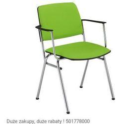 Krzesło konferencyjne v-sit arm chrome marki Nowy styl