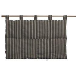 wezgłowie na szelkach, pasy czarno-srebrne, 90 x 67 cm, wyprzedaż do -30% marki Dekoria